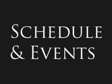 Schedule & Events
